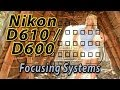 Nikon D610 / D600 Focus Squares Tutorial | How to Focus Training Video