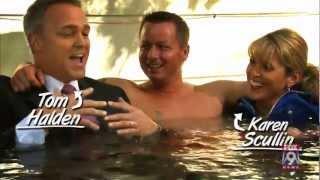 FOX 9 Big Fan (Hot Tub Edition): Tom Halden, Karen Scullin