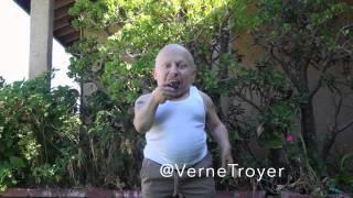 Verne Troyer ALS Ice Bucket Challenge: Milk and Cookies