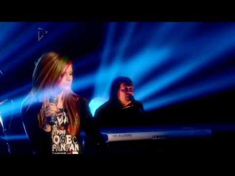 Avril Lavigne - Push Acoustic [Live On T4]