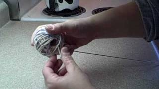 How To Make A Center Pull Skein (ball Of Yarn) For