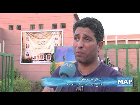 أمسية للفيلم القصير بمهرجان زاكورة للفيلم عبر الصحراء
