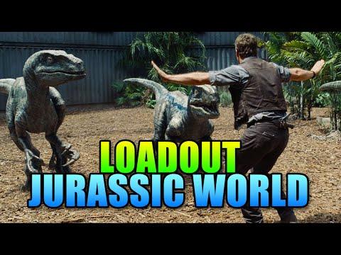 Loadout - Jurassic World - Mares Leg & Spas-12 | Battlefield 4 Sniper Gameplay