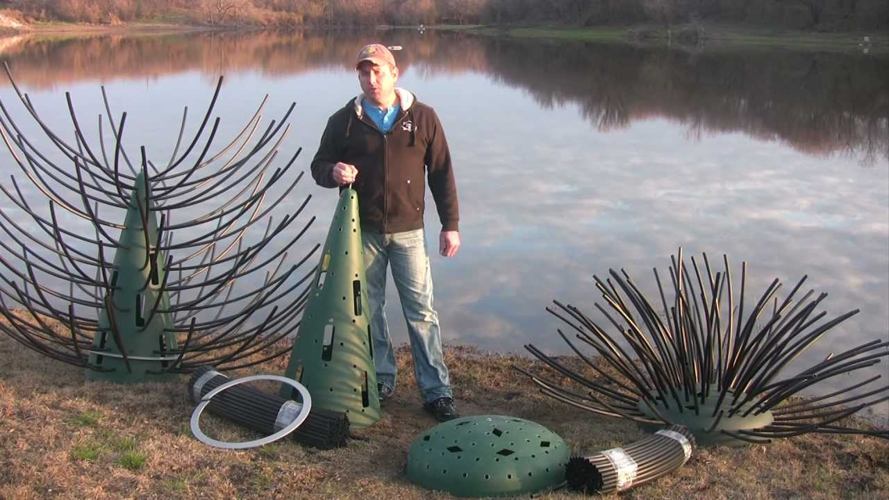 pond structure improvement using artificial fish