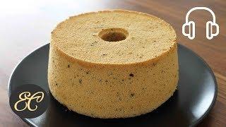 Earl Grey Chiffon Cake Recipe Gluten Free ふわっふわっ 紅茶のシフォンケーキの作り方