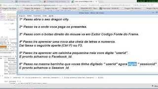 Como Pegar Facebook Id E Session Id Dragon City