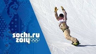 Sage Kotsenburg's Gold Winning Snowboard Slopestyle Run | Sochi 2014 Winter Olympics