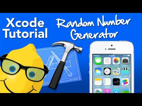 XCode Tutorial Random number generator - Geeky Lemon Development