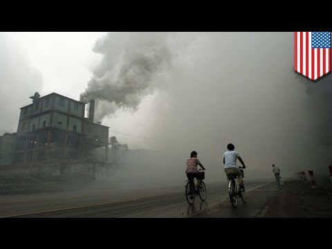 China exports pollution to western US