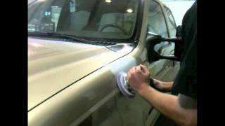 DIY How To Repair Small Hail Damage With Glazing Putty