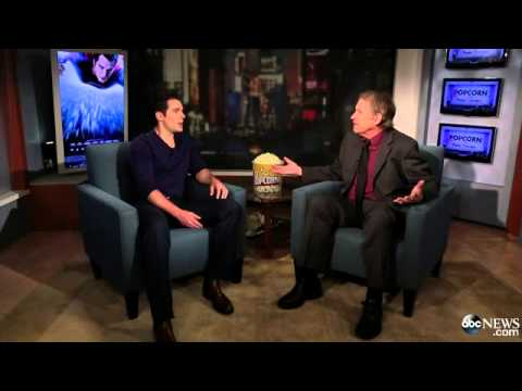 Henry Cavill Interviewed on Popcorn with Peter Travers