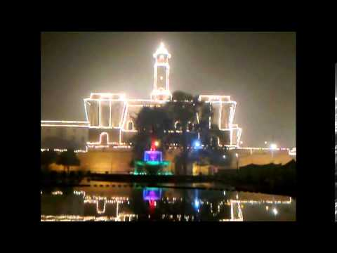Illuminated Rashtapati Bhavan & Parliament House (2014)