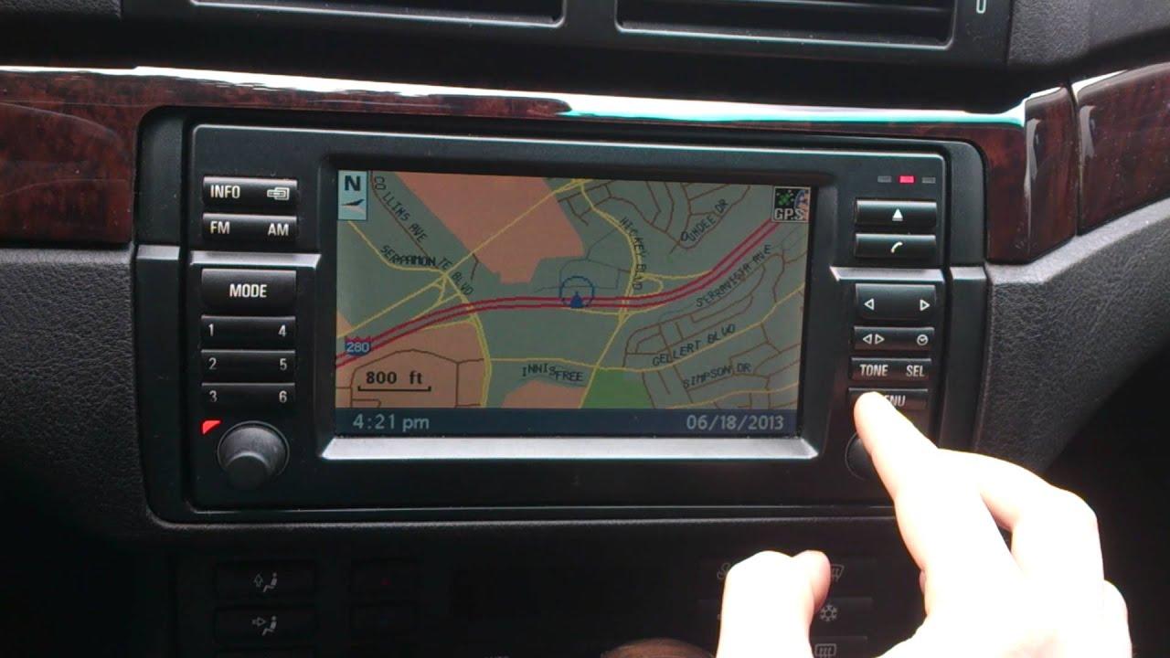 2004 Bmw E46 Coupe Oem Cd Navigation Bm53 Radio Mkiii