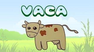 Cómo Dibujar Una Vaca. Dibujos Para Niños.