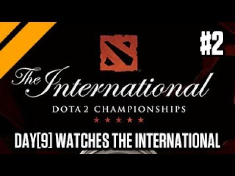 Day[9] Learns Dota - Watching The International Dota 2 Championships P2