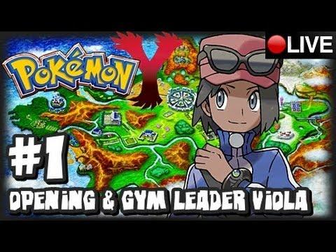 Pokemon Y 3DS - Pokemon X & Y Livestream Part 1 & Giveaway