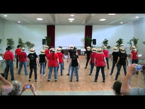 Kansas Line Dance - intercours debutants 2013