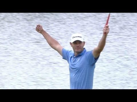 Shawn Stefani makes a daunting 63-foot eagle putt at Shell