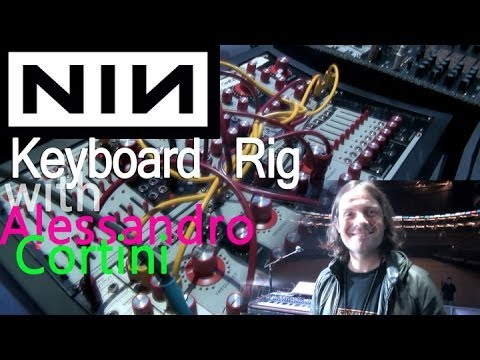Thumbnail of video Alessandro Cortini --Keyboard  Rig   Live