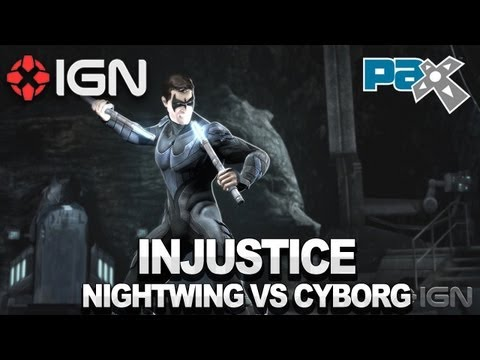 Injustice - Nightwing vs Cyborg Walkthrough