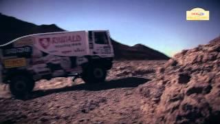 Clip vidéo AUTO Etape 3 - Rallye OiLibya du Maroc 2013