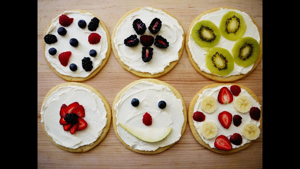 Cooking with Kids: How to Make Sugar Cookie Pizzas from Scratch ...