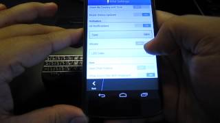 BBM On Android (walk-through W/ Nexus 4)