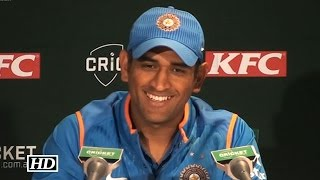 IND vs AUS 2nd T20: Dhoni Reacts on Winning T20 Series