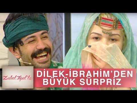 Zuhal Topal'la 132. Bölüm (HD) | Dilek ve İbrahim'den Zuhal Topal'a Büyük Sürpriz
