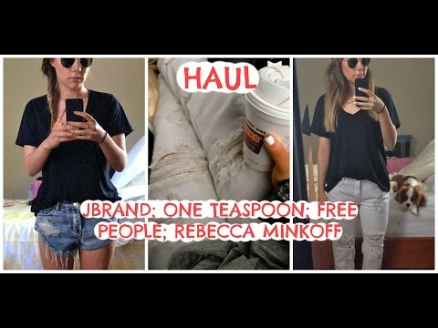 One Teaspoon Haul JBrand One Teaspoon