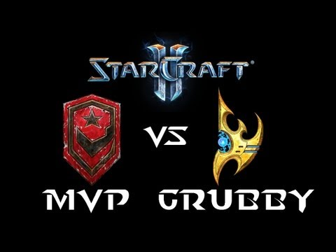 StarCraft 2 - MVP [T] vs Grubby [P] (Commentary)