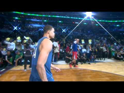 JaVale McGee Dunks Two Balls in Two Hoops