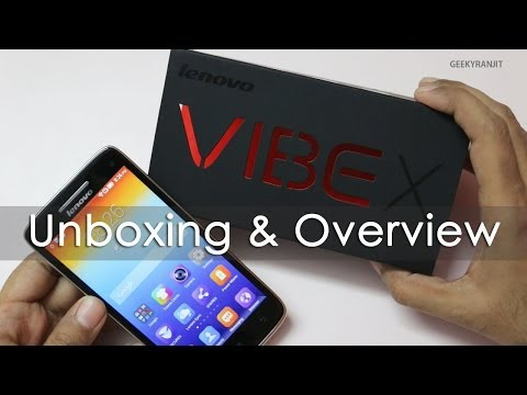 Lenovo VIBE X Android Phone Unboxing & Hands on Overview