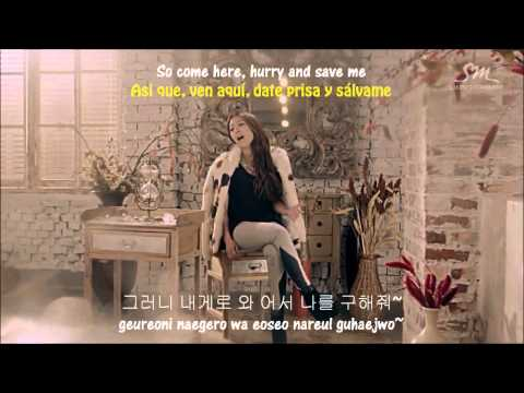 [MV_HD] BoA - Disturbance (starring SHINee's Taemin) [ENG/SPA SUBS + LYRICS] + Altern. Endings.