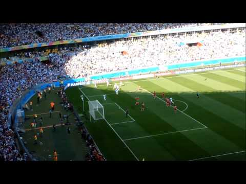 Lionel Messi 91st Minute Goal vs Iran