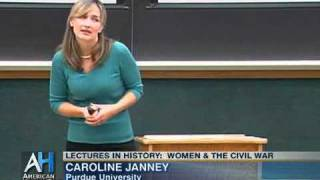 Lectures in History: Women and the Civil War