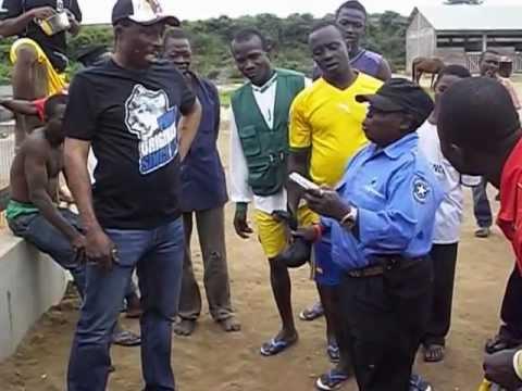 Nana kwaku bonsam encounter with the shortest security man in Ghana p 2
