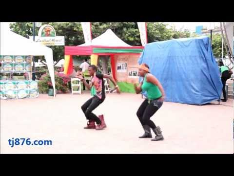 Jamaican Reggae Dancehall Routine - By: Dance Expressions Part 2