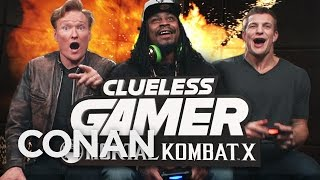 Seahawks Marshawn Lynch vs Patriots Rob Gronkowski: Mortal Kombat X