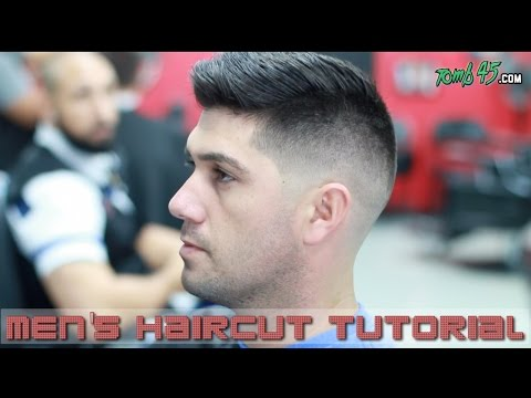 Fading & Styling Thick Hair Like Sergio Aguero! Barber Tutorial