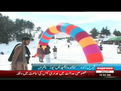 snow festival malam jabba 2014 4th day