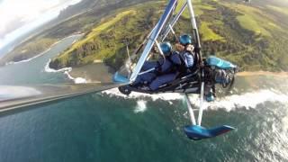 Trike Flying Over Kauai, Hawaii Birds In Paradise