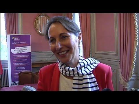 Ségolène Royal transmettra la présidence de la région Poitou-Charentes