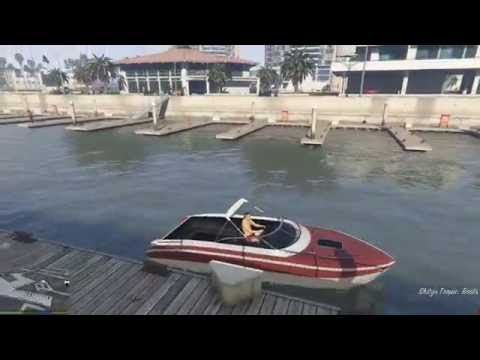 GTA 5 - Hóa thân thành cá mập khám phá đại dương