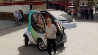 Hiriko Folding Electric Car Full Demo