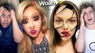 Insane Make Up Transformations