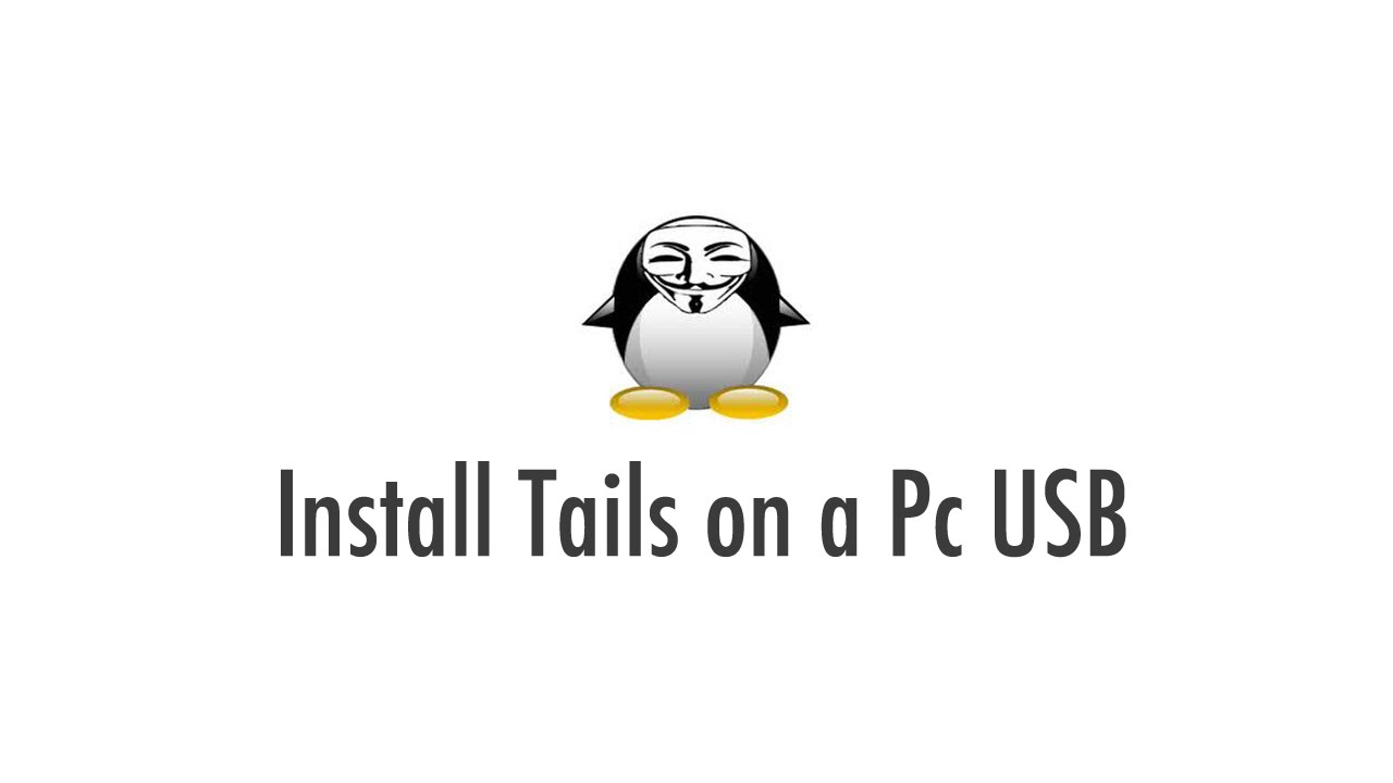 how to set up tails on pc