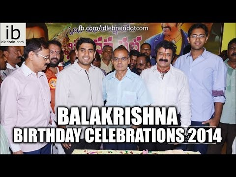 Balakrishna Birthday Celebrations 2014 Video