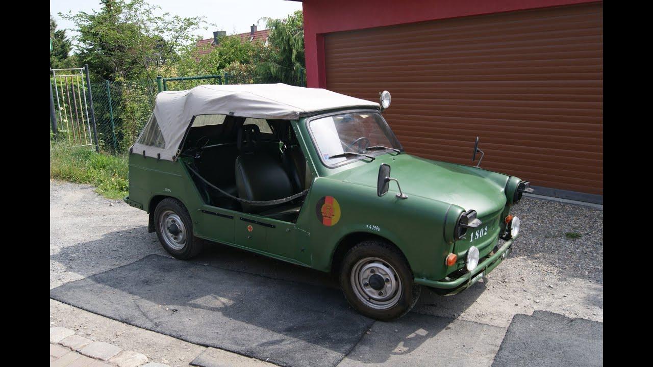 ddr ifa nva trabant 601 k bel oldtimer kult cabrio mit funkger t nma 74 standheizung youtube. Black Bedroom Furniture Sets. Home Design Ideas