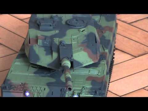 HL Leopard 2A6 , Testlauf